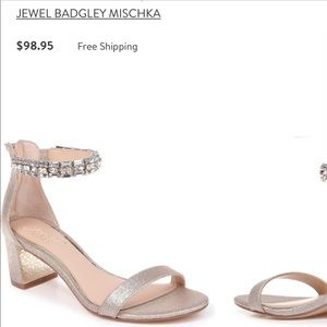 Jewel Badgley Mischka Katerina Heels